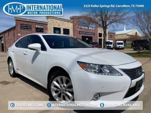 2014 Lexus ES 300h for sale at International Motor Productions in Carrollton TX