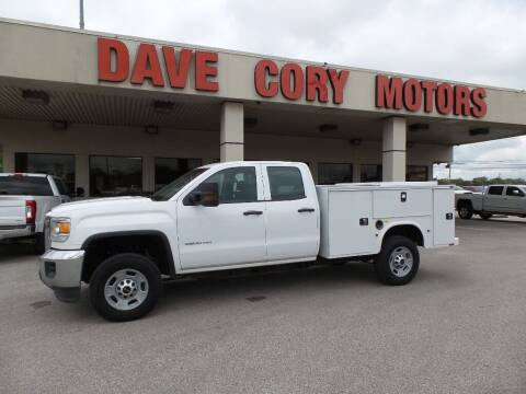 2017 GMC Sierra 2500HD for sale at DAVE CORY MOTORS in Houston TX