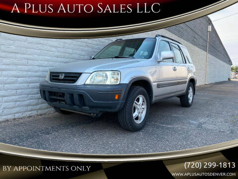 2001 Honda CR-V for sale at A Plus Auto Sales LLC in Denver CO