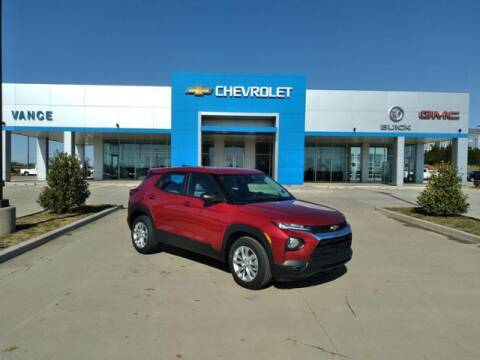 2021 Chevrolet TrailBlazer for sale at Vance Fleet Services in Guthrie OK