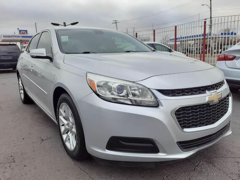 2015 Chevrolet Malibu for sale at Julian Auto Sales, Inc. - Number 1 Car Company in Detroit MI