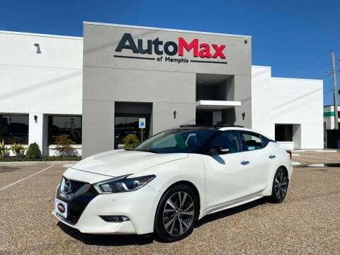 2017 Nissan Maxima for sale at AutoMax of Memphis in Memphis TN
