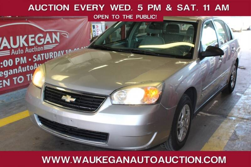 2007 Chevrolet Malibu for sale at Waukegan Auto Auction in Waukegan IL