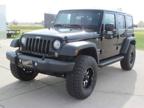 2017 Jeep Wrangler Unlimited for sale at Flaherty's Hi-Tech Motorwerks in Albert Lea MN