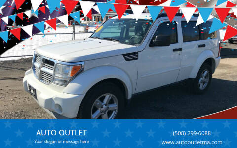 2008 Dodge Nitro for sale at AUTO OUTLET in Taunton MA