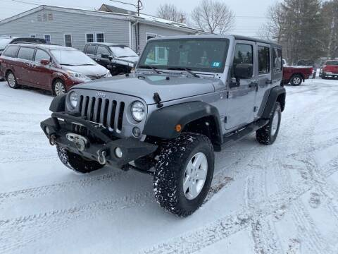 2015 Jeep Wrangler Unlimited for sale at AutoMile Motors in Saco ME