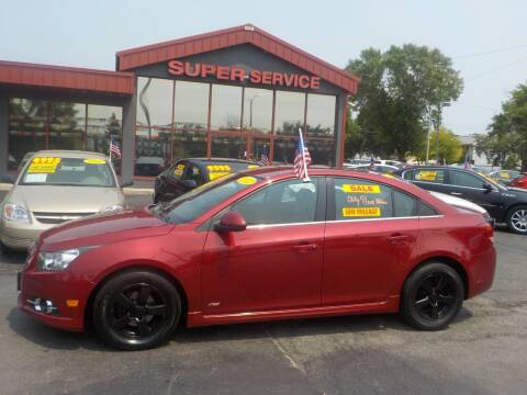 2012 Chevrolet Cruze for sale at Super Service Used Cars in Milwaukee WI