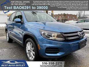 2017 Volkswagen Tiguan for sale at Best Auto Outlet in Floral Park NY
