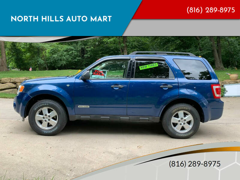 2008 Ford Escape for sale at NORTH HILLS AUTO MART in Kansas City MO