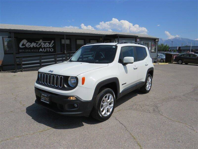 2017 Jeep Renegade for sale at Central Auto in South Salt Lake UT