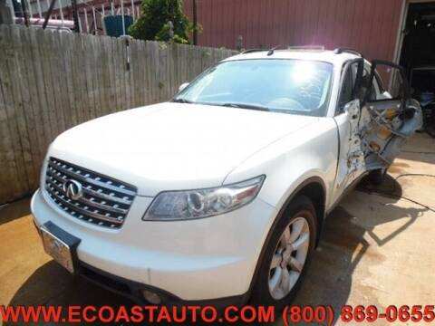 2004 Infiniti FX35 for sale at East Coast Auto Source Inc. in Bedford VA