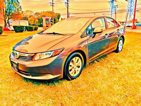 2012 Honda Civic for sale at Del Sol Auto Mart in Des Plaines IL