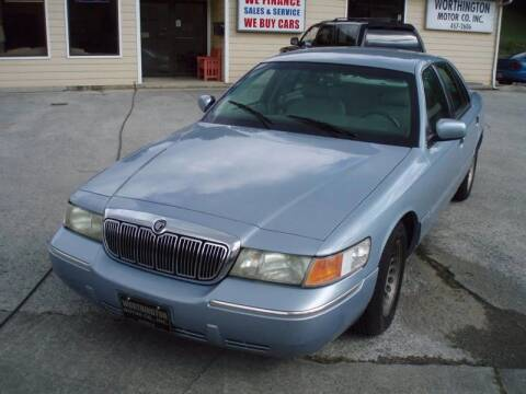 2000 Mercury Grand Marquis for sale at Worthington Motor Co, Inc in Clinton TN