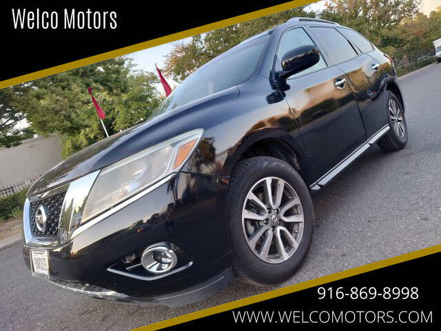 2013 Nissan Pathfinder for sale at Welco Motors in Rancho Cordova CA