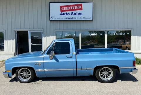 1984 Chevrolet C/K 10 Series for sale at Certified Auto Sales in Des Moines IA