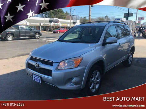 2009 Toyota RAV4 for sale at Best Auto Mart in Weymouth MA