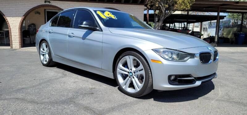2014 BMW 3 Series for sale at FRANCIA MOTORS in El Paso TX