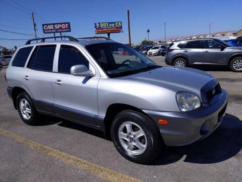 2004 Hyundai Santa Fe for sale at Car Spot in Las Vegas NV
