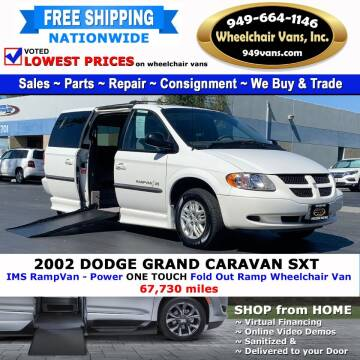 2002 Dodge Grand Caravan for sale at Wheelchair Vans Inc - New and Used in Laguna Hills CA
