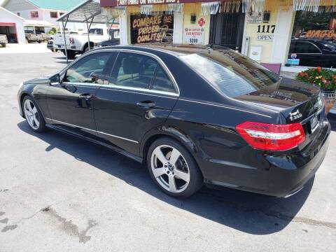 2010 Mercedes-Benz E-Class for sale at ANYTHING ON WHEELS INC in Deland FL