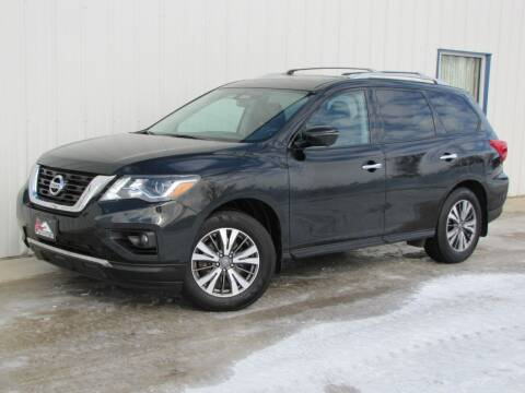2017 Nissan Pathfinder for sale at Lyman Auto in Griswold IA