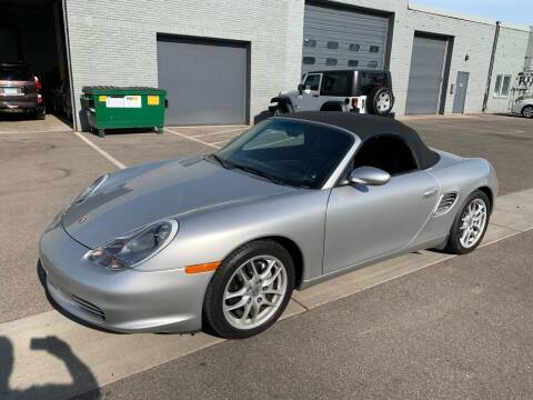 2003 Porsche Boxster for sale at The Car Buying Center in St Louis Park MN