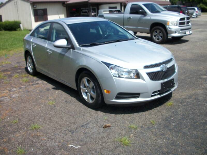 2014 Chevrolet Cruze for sale at Terry Mowery Chrysler Jeep Dodge in Edison OH