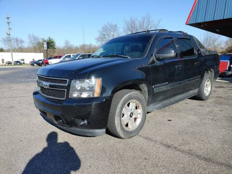 2007 Chevrolet Avalanche for sale at Cruisin' Auto Sales in Madison IN