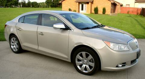 2012 Buick LaCrosse for sale at Angelo's Auto Sales in Lowellville OH