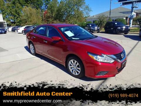 2017 Nissan Altima for sale at Smithfield Auto Center LLC in Smithfield NC