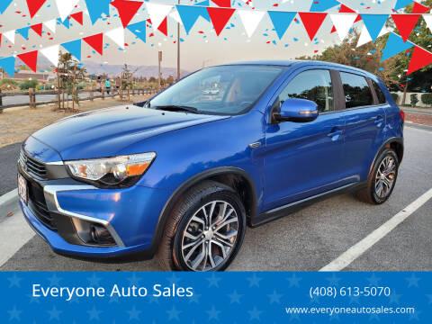 2016 Mitsubishi Outlander Sport for sale at Everyone Auto Sales in Santa Clara CA