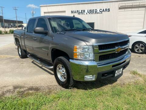 2009 Chevrolet Silverado 2500HD for sale at MARLER USED CARS in Gainesville TX