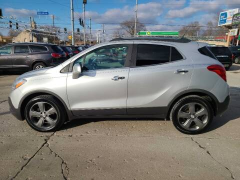 2013 Buick Encore for sale at Bob Boruff Auto Sales in Kokomo IN
