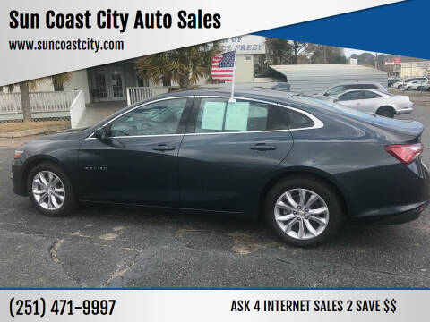 2021 Chevrolet Malibu for sale at Sun Coast City Auto Sales in Mobile AL