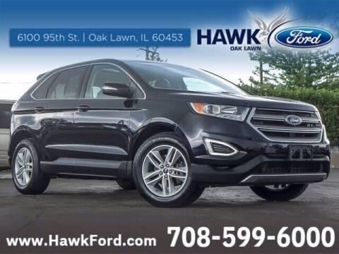 2017 Ford Edge for sale at Hawk Ford of Oak Lawn in Oak Lawn IL