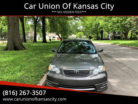2005 Toyota Corolla for sale at Car Union Of Kansas City in Kansas City MO