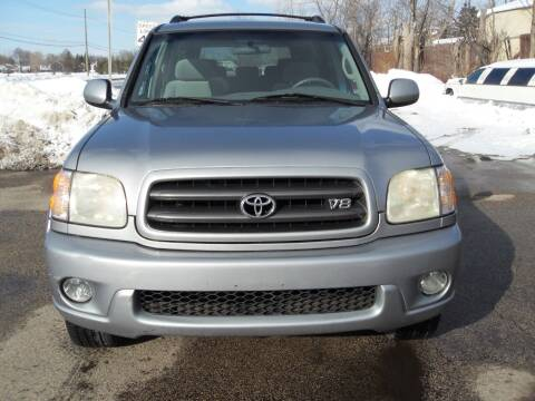 2003 Toyota Sequoia for sale at GLOBAL AUTOMOTIVE in Gages Lake IL