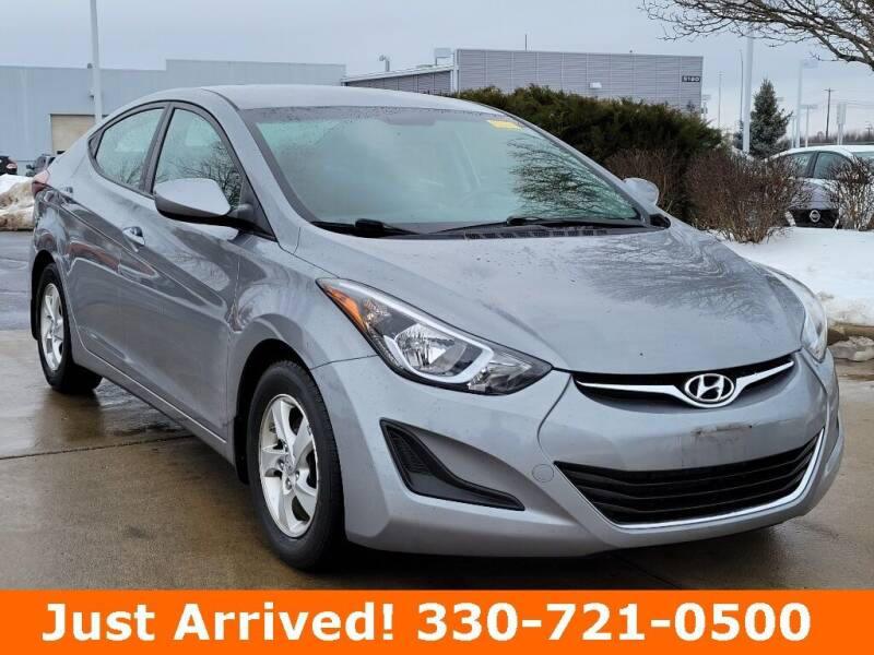 2015 Hyundai Elantra for sale at Ken Ganley Nissan in Medina OH