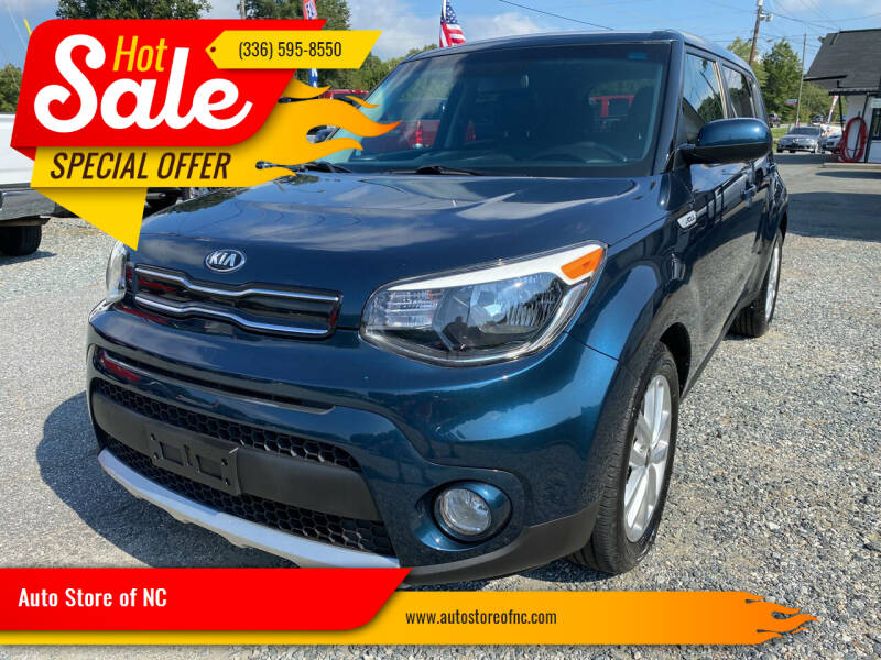 2018 Kia Soul for sale at Auto Store of NC in Walkertown NC