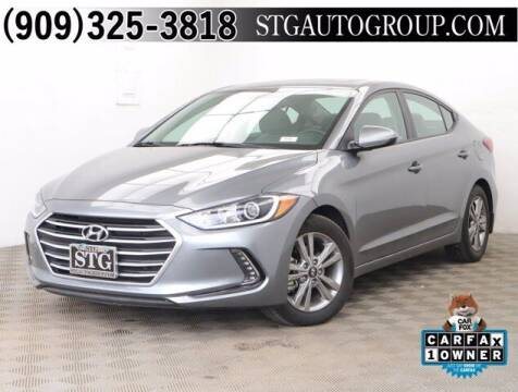 2018 Hyundai Elantra for sale at STG Auto Group in Montclair CA