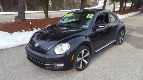 2012 Volkswagen Beetle for sale at LMJ AUTO AND MUSCLE in York PA