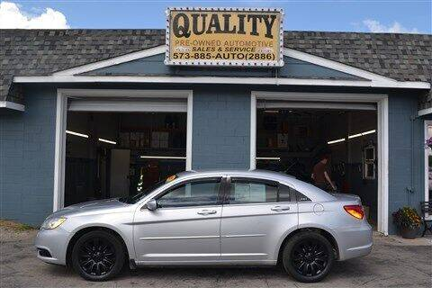 2011 Chrysler 200 for sale at Quality Pre-Owned Automotive in Cuba MO
