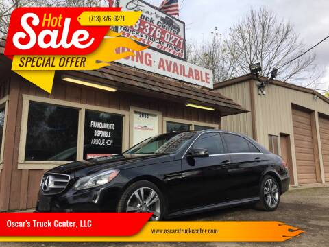 2014 Mercedes-Benz E-Class for sale at Oscar's Truck Center, LLC in Houston TX