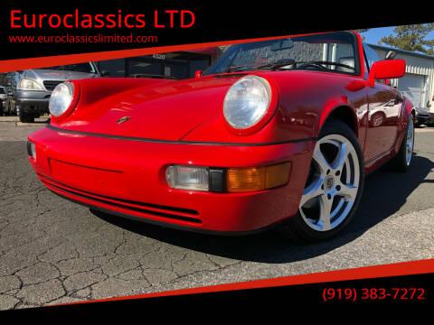 1991 Porsche 911 for sale at Euroclassics LTD in Durham NC