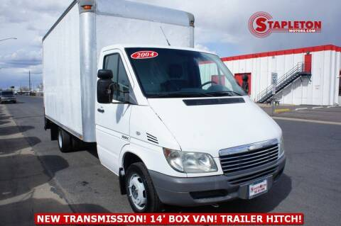 2004 Dodge Sprinter Cab Chassis for sale at STAPLETON MOTORS in Commerce City CO