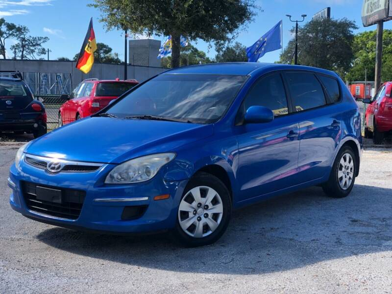 2010 Hyundai Elantra Touring for sale at Pro Cars Of Sarasota Inc in Sarasota FL