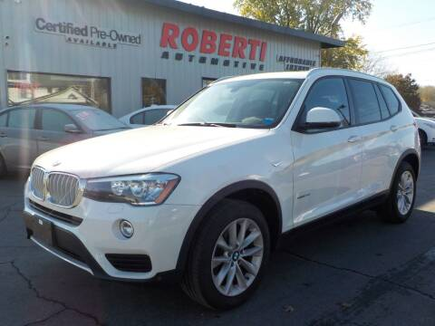 2016 BMW X3 for sale at Roberti Automotive in Kingston NY
