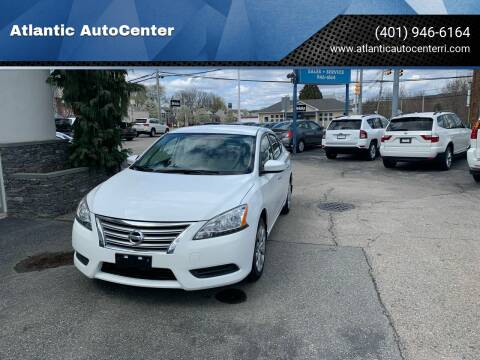 2015 Nissan Sentra for sale at Atlantic AutoCenter in Cranston RI
