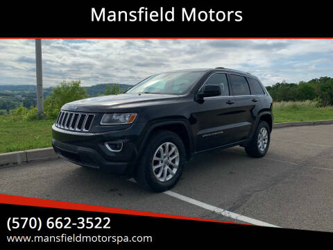 2014 Jeep Grand Cherokee for sale at Mansfield Motors in Mansfield PA