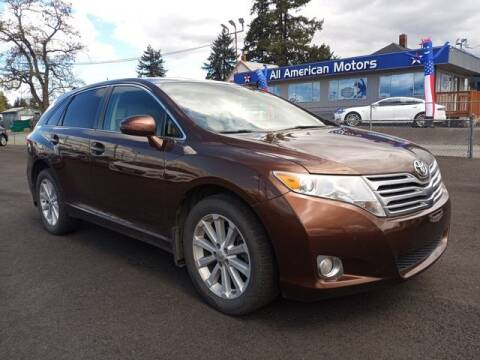 2010 Toyota Venza for sale at All American Motors in Tacoma WA